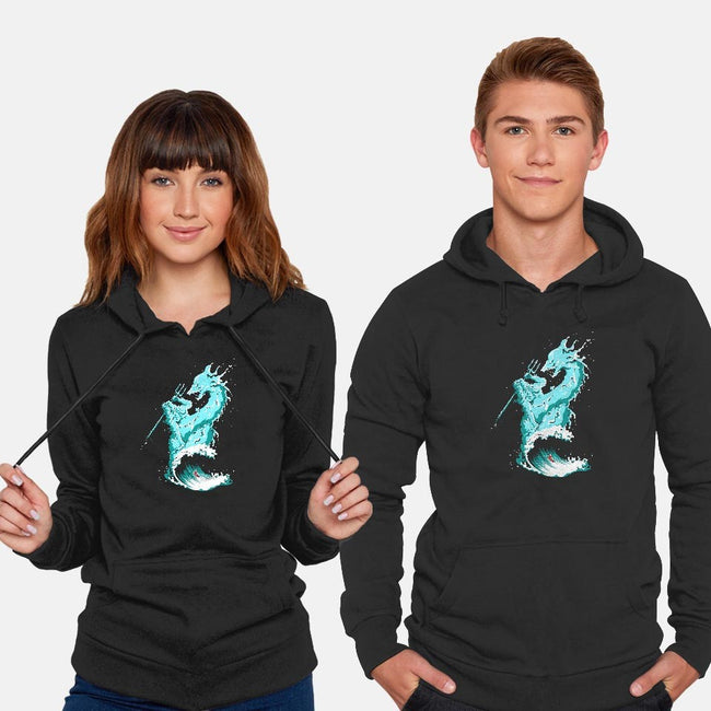 Ocean Fight-unisex pullover sweatshirt-flying mouse