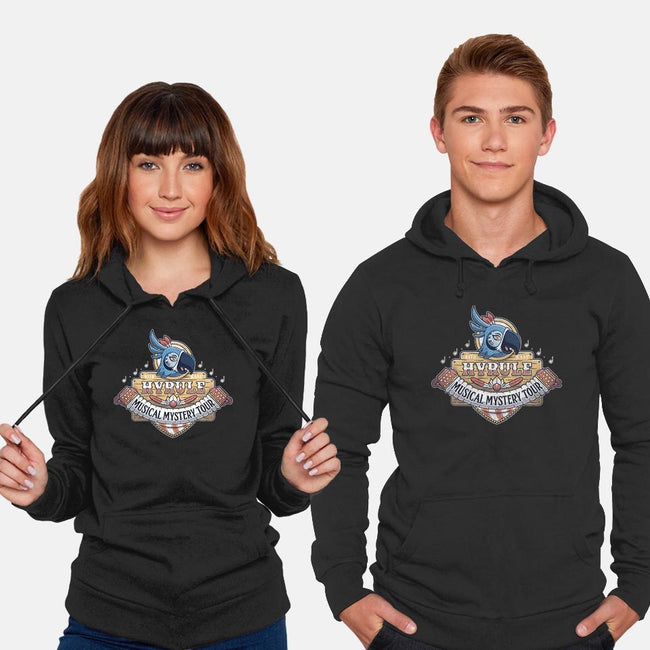 Kass' Musical Mystery Tour-unisex pullover sweatshirt-adho1982