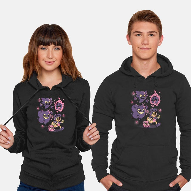 Old but Ghosts-unisex pullover sweatshirt-ilustrata
