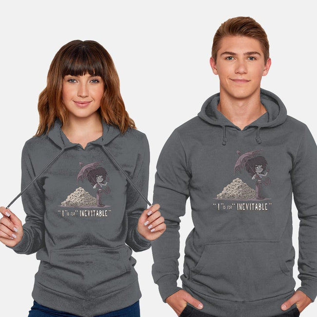 I is for Inevitable-unisex pullover sweatshirt-otisframpton