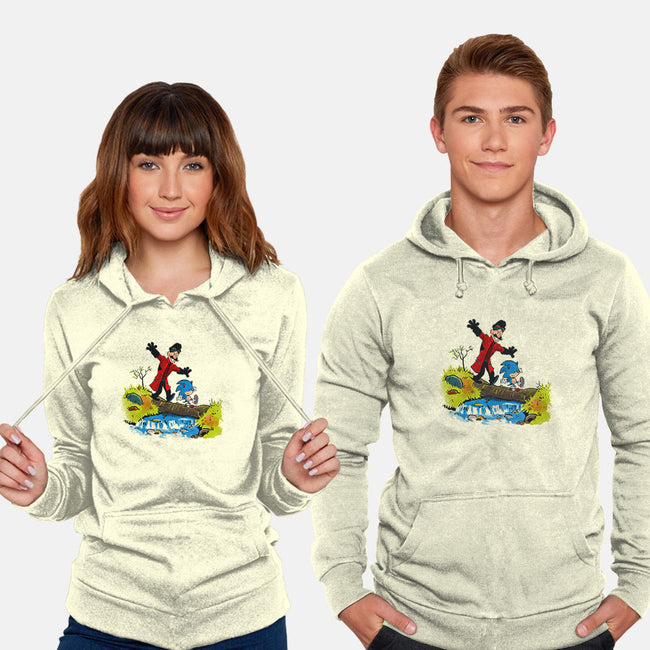There are Treasures Everywhere-unisex pullover sweatshirt-mikebonales