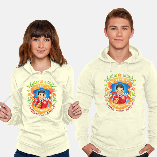 Be Kind to Your Neighbor-unisex pullover sweatshirt-starsalts