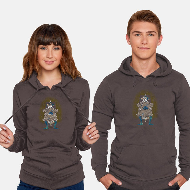 One of Us Always Lies-unisex pullover sweatshirt-Nemons