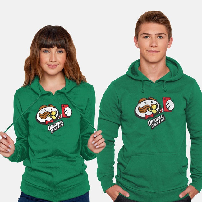 The Original Duck Face-unisex pullover sweatshirt-NickGarcia