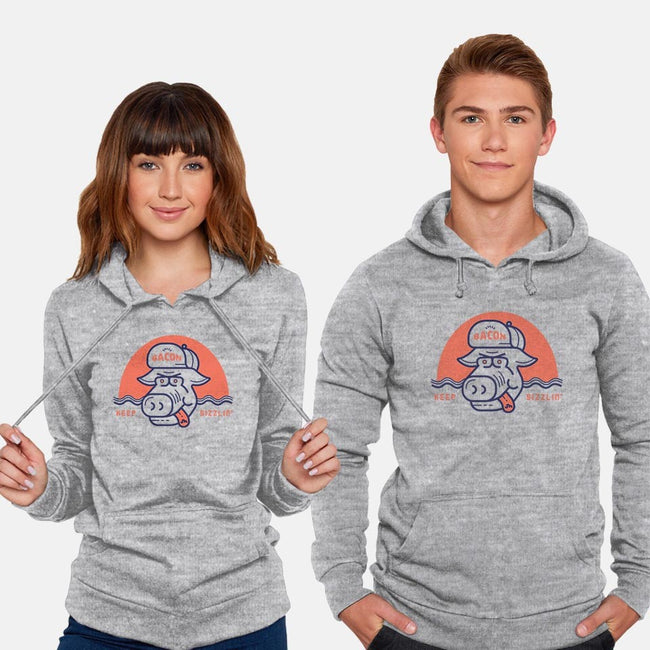 Keep Sizzlin'-unisex pullover sweatshirt-Newhouse Designs