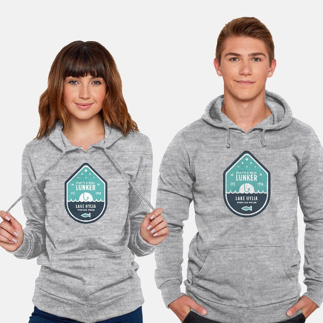 Home of The Big Lunker-unisex pullover sweatshirt-thom2maro