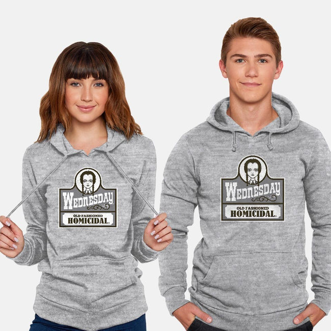 Old Fashioned Homicidal-unisex pullover sweatshirt-Nemons