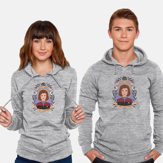 Our Lady of Determination-unisex pullover sweatshirt-heymonster