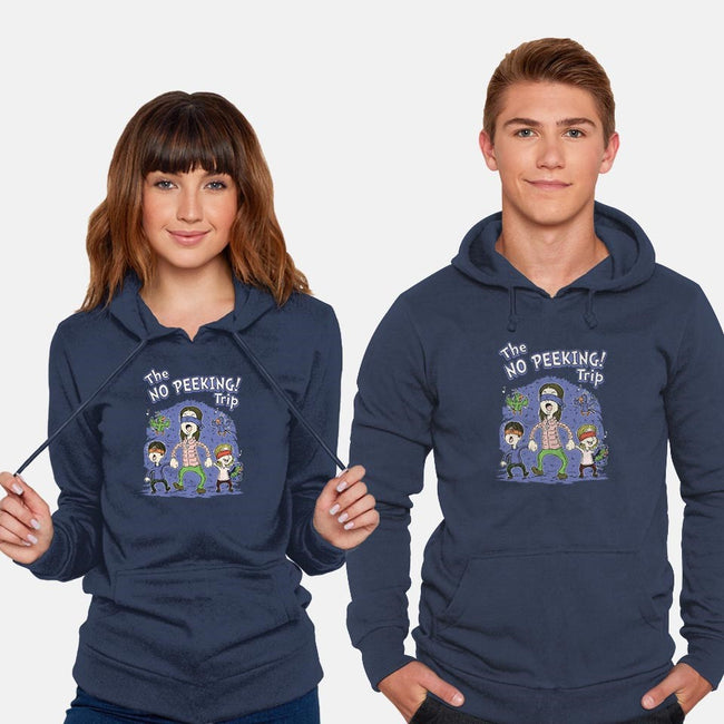 The No Peeking Trip-unisex pullover sweatshirt-Firebrander