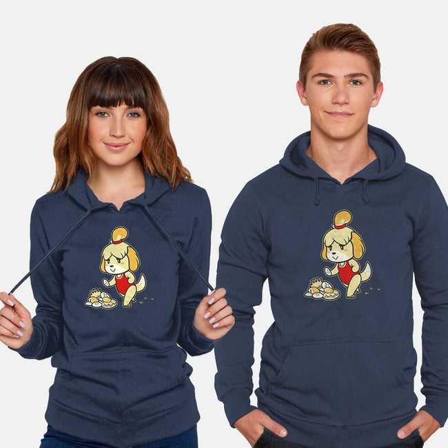 Isabelle's Day Off-unisex pullover sweatshirt-aflagg