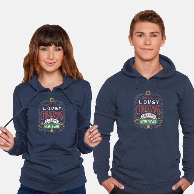 Friendly Christmas-unisex pullover sweatshirt-eduely