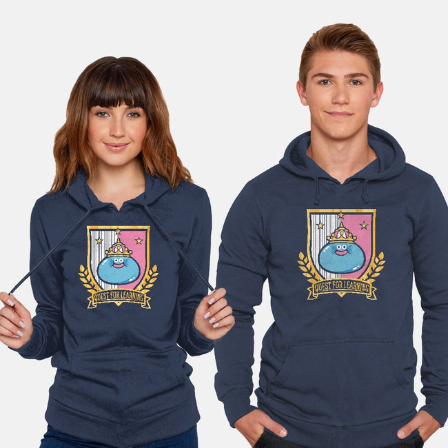 Quest for Learning-unisex pullover sweatshirt-Jaime Ugarte