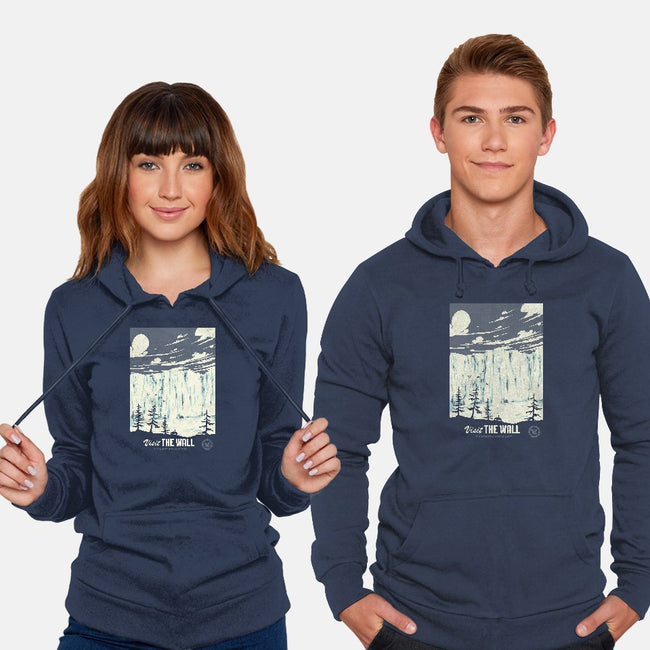 Visit The Wall-unisex pullover sweatshirt-Mathiole