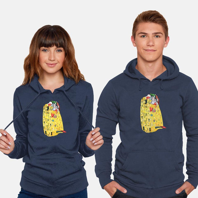 Crazy About You-unisex pullover sweatshirt-brettsartworld