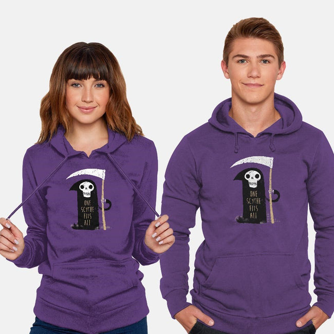 One Scythe Fits All-unisex pullover sweatshirt-DinoMike
