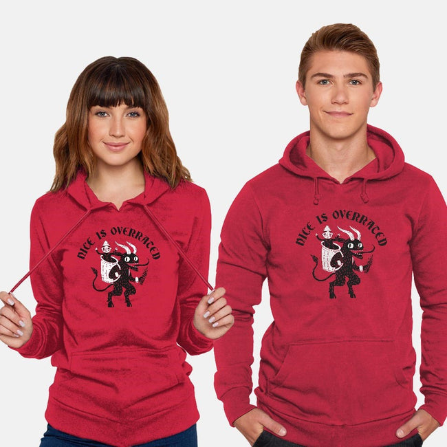 Naughty Is Better-unisex pullover sweatshirt-DinoMike