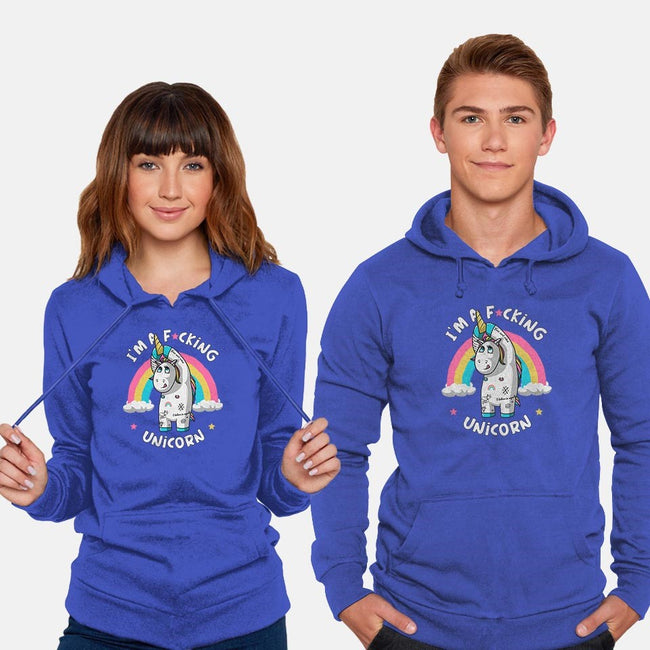 I'm A F*cking Unicorn-unisex pullover sweatshirt-ducfrench