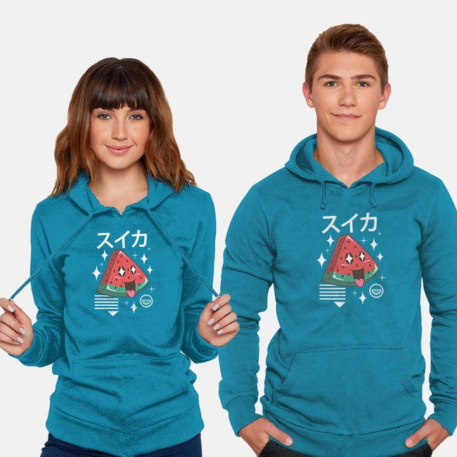Kawaii Watermelon-unisex pullover sweatshirt-vp021