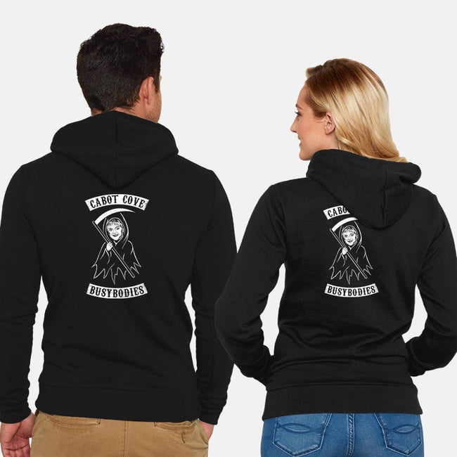 Murder She Rode-unisex zip-up sweatshirt-MJ