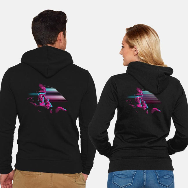 Punch It!-unisex zip-up sweatshirt-UnlikelyDesigns