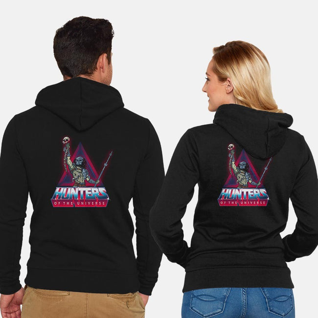 Elite Hunters-unisex zip-up sweatshirt-Getsousa!