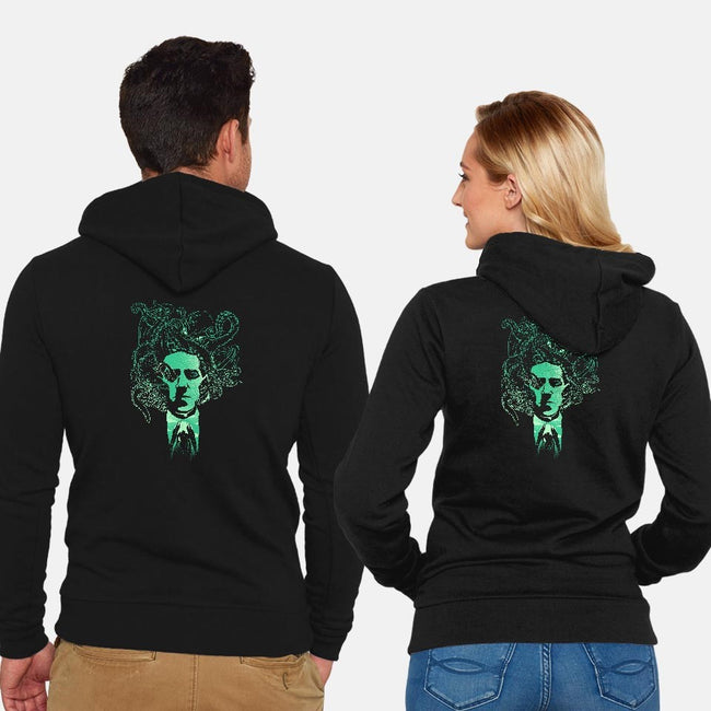 Night Terror-unisex zip-up sweatshirt-dandingeroz