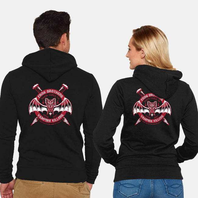 Vampire Killers-unisex zip-up sweatshirt-Nemons