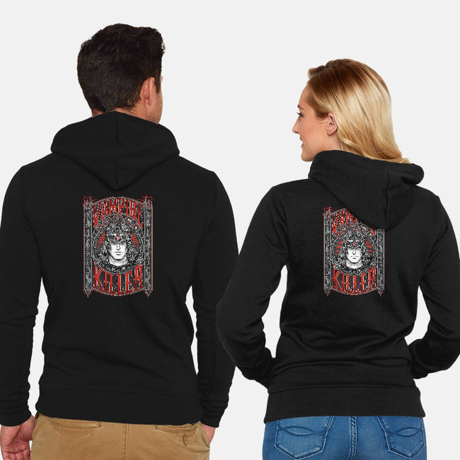 Vampire Killer-unisex zip-up sweatshirt-Firebrander