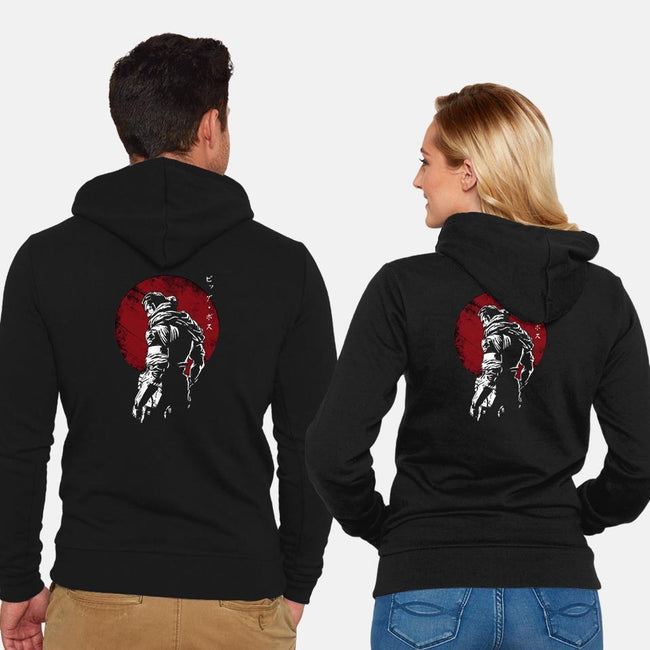 The Legendary Soldier-unisex zip-up sweatshirt-ddjvigo