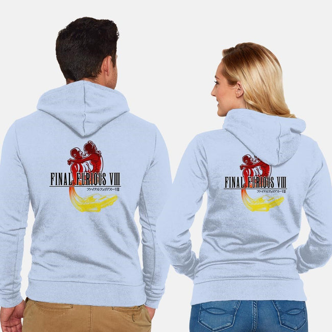 Final Furious VIII-unisex zip-up sweatshirt-Punksthetic