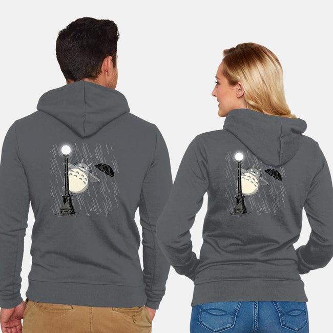 Just Singing in the Rain-unisex zip-up sweatshirt-ddjvigo