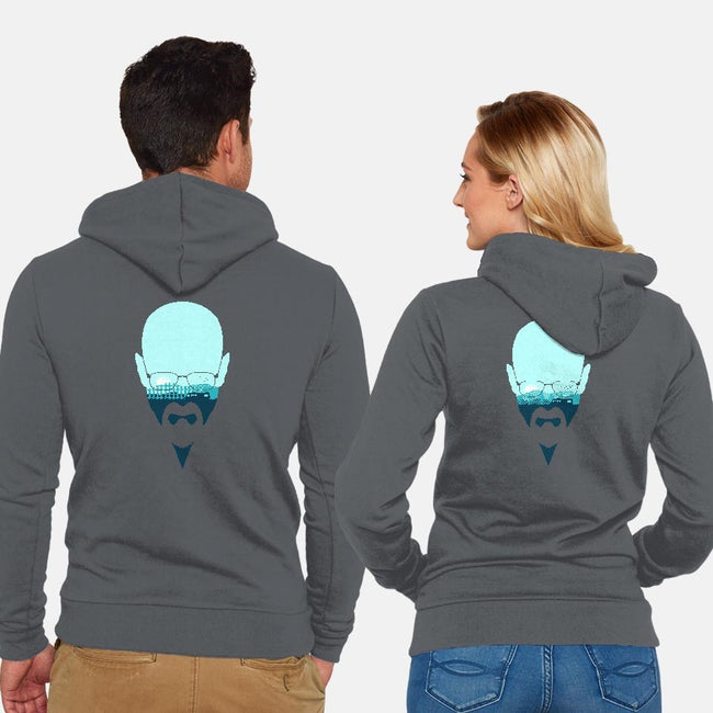 Heisenberg-unisex zip-up sweatshirt-filiskun