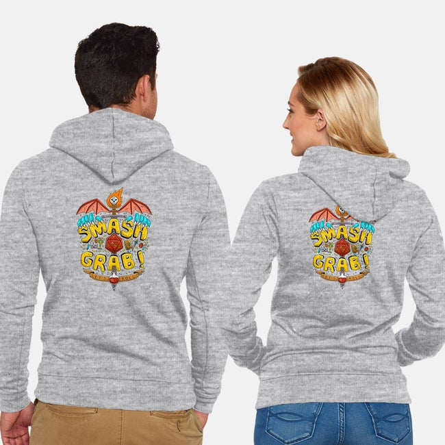 The Old Fashioned-unisex zip-up sweatshirt-mattsinorart