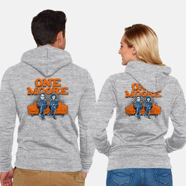 One Moore-unisex zip-up sweatshirt-Captain Ribman