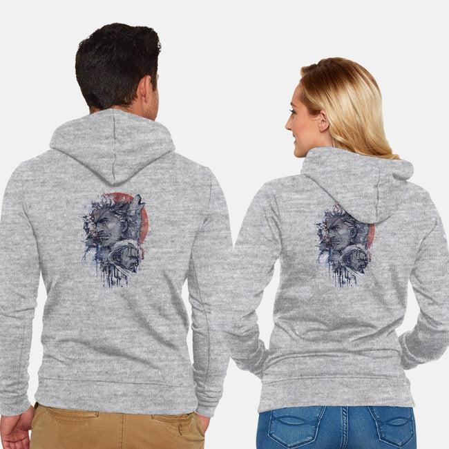 Venom Awakens-unisex zip-up sweatshirt-LestatPrincess
