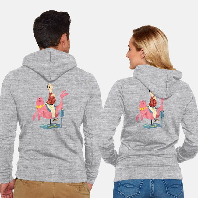 Out on a Limb-unisex zip-up sweatshirt-juliancallos