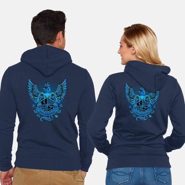 Mystical Trainer-unisex zip-up sweatshirt-PrimePremne
