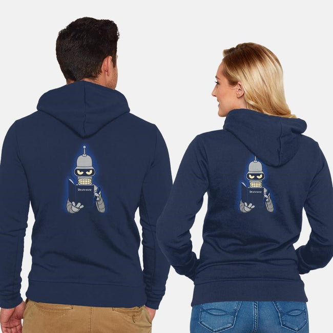 KILL ALL HUMANS-unisex zip-up sweatshirt-Raffiti