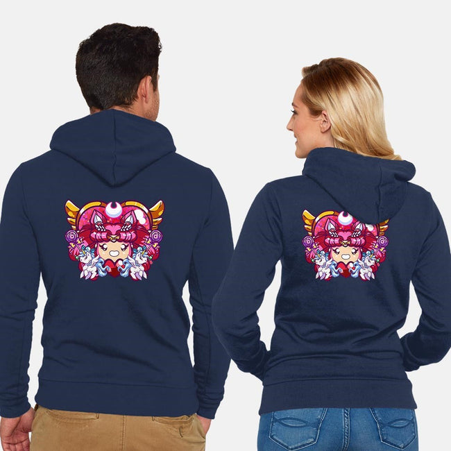 Twinkle Yell!-unisex zip-up sweatshirt-jenovasilver