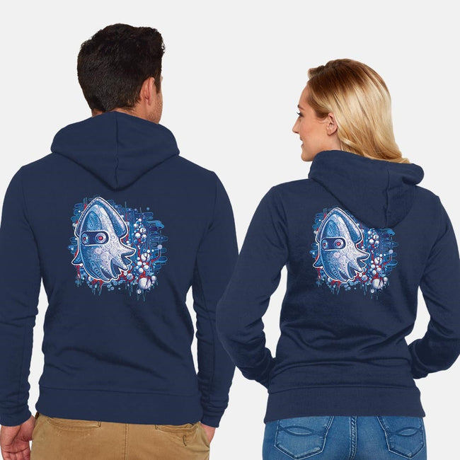 From The Deep-unisex zip-up sweatshirt-TimShumate