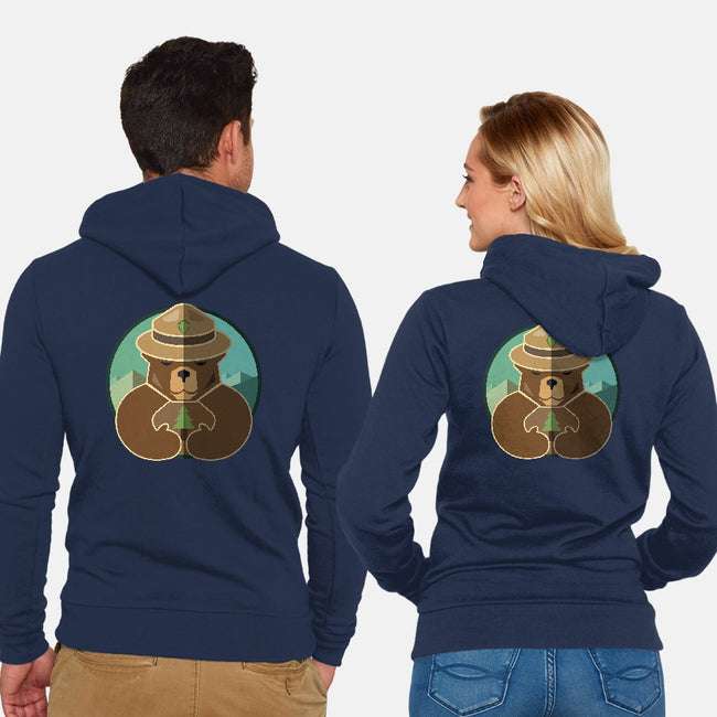 Only You Can Protect & Conserve-unisex zip-up sweatshirt-Diana Roberts