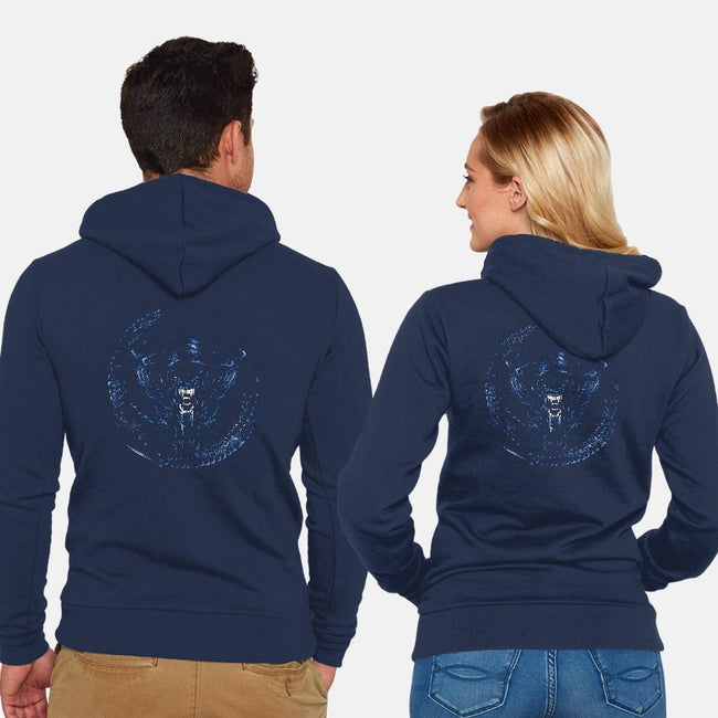 Drone Mother-unisex zip-up sweatshirt-DrMonekers