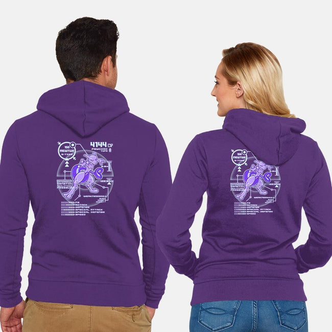 Legendary Purple-unisex zip-up sweatshirt-KKTEE