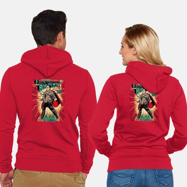 Bob of Steel-unisex zip-up sweatshirt-PrimePremne