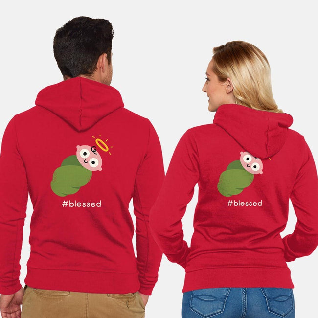 Divine Instavention-unisex zip-up sweatshirt-David Olenick