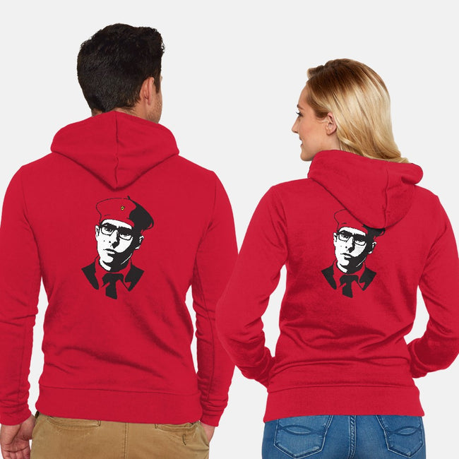 Viva La Rushmore-unisex zip-up sweatshirt-castlepop