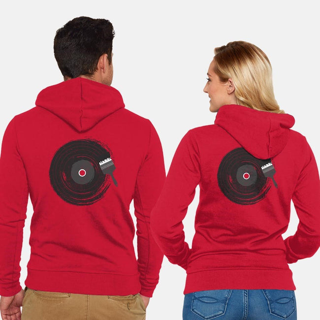 Art of Music-unisex zip-up sweatshirt-dandingeroz