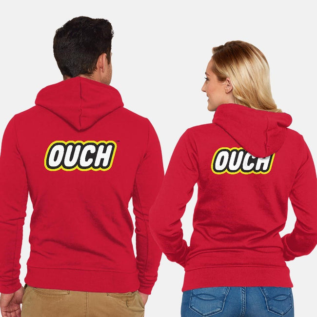 OUCH-unisex zip-up sweatshirt-thom2maro