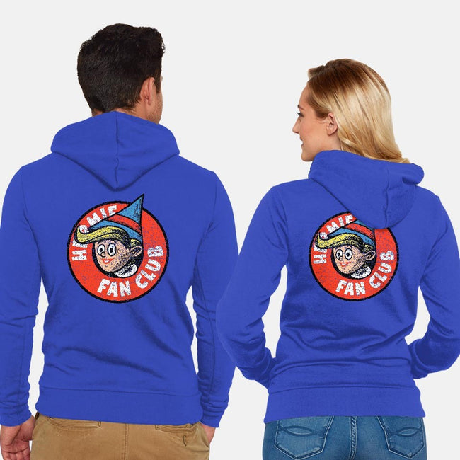 Hermie Fan Club-unisex zip-up sweatshirt-Gimetzco!