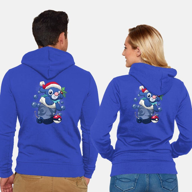 Bubbly Stocking Stuffer-unisex zip-up sweatshirt-DoOomcat